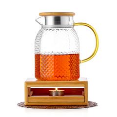 Чайник заварочный Гефест с подогревом свечой