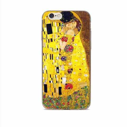 Telefon üzlüyü iPhone 7 Plus - Klimt