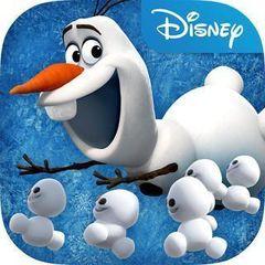 Игрушка Снежок, плюшевый Холодное сердце