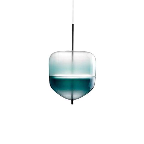 Подвесной светильник копия Flow[T] S4 by Nao Tamura (Wonderglass) (синий)