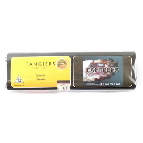 Табак для кальяна Tangiers Noir (желтый) 92 Mimon