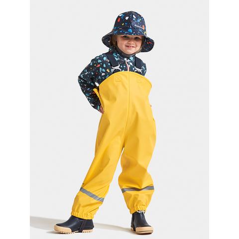 Didriksons PLASKEMAN  непромокаемый полукомбинезон - брюки, золотисто-желтый