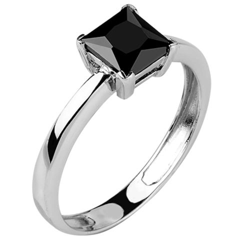 Кольцо из серебра с нано шпинелью Арт.1185н-шп