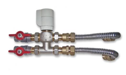 Клапан 3-х ходовой в комплекте для фанкойлов MDKH*-** /MDKF*-**  MDV 201680490996
