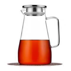 Кувшин 1,5 л с фильтром в крышке стеклянный для воды, сока и других напитков