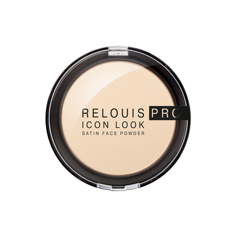 Relouis pro Пудра компактная Icon Look Satin Face Powder тон 00