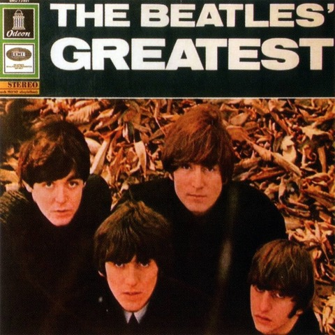 Виниловая пластинка. The Beatles' Greatest