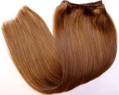 темный русый цвет волос на трессе