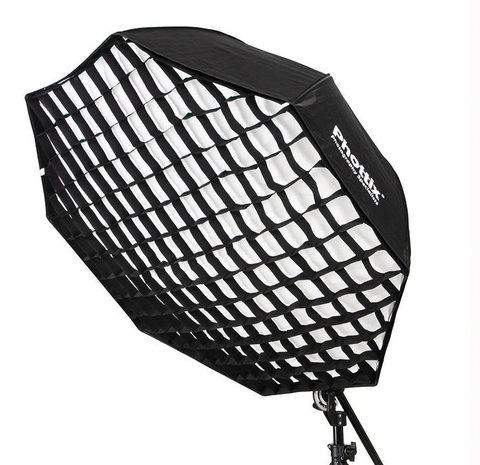 Софтбокс-зонт  Phottix Easy-Up Octa Umbrella Softbox II with grid 80cm