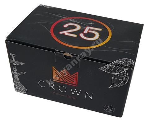 Кокосовый уголь для кальяна Crown 1 кг 72 кубика