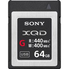 Карта памяти Sony QD-G64E XQD 64GB серия G 440/400 MB/s