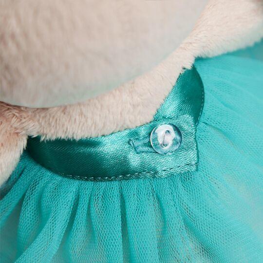 Зайка Ми в бирюзовой юбочке с бабочкой