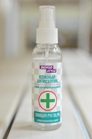 A11213 INDIGO спрей антисептический спиртовой, 85 мл
