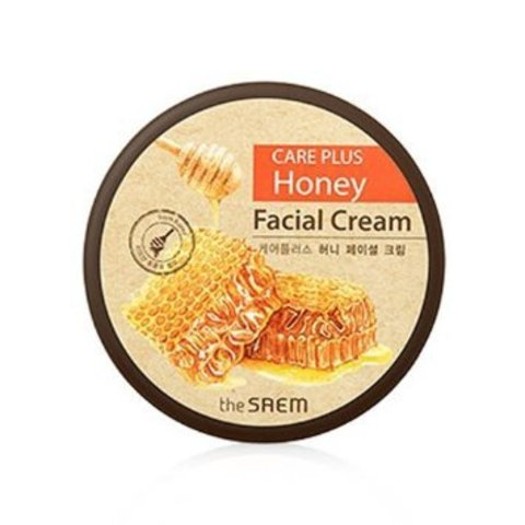 THE SAEM CARE PLUS Крем для лица медовый CARE PLUS Honey Facial Cream 200мл