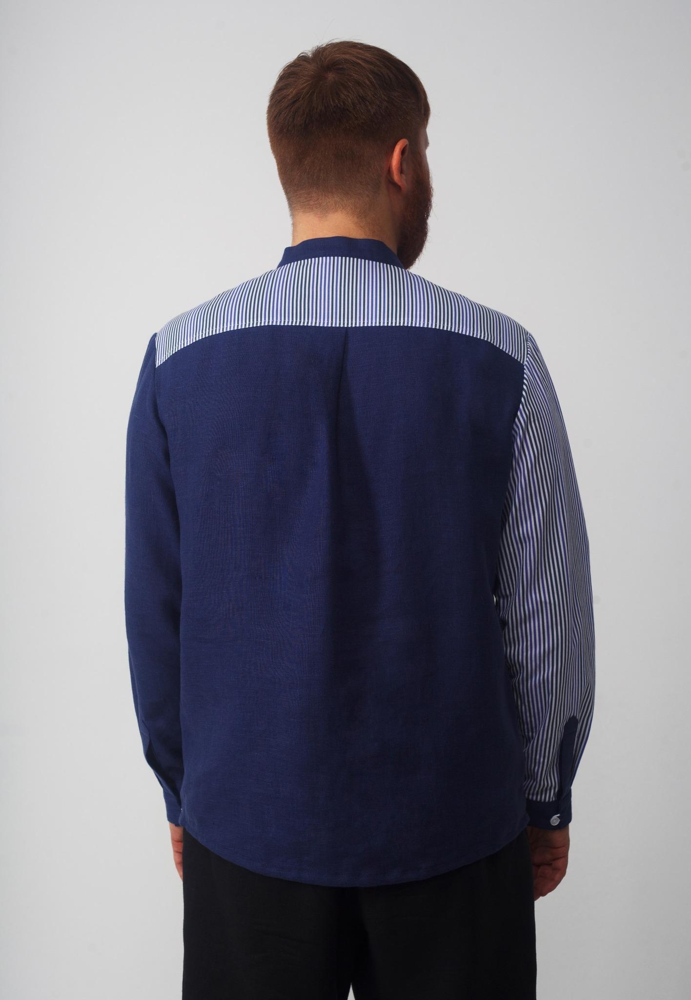 Рубашка мужская Сибирская Вид сзади