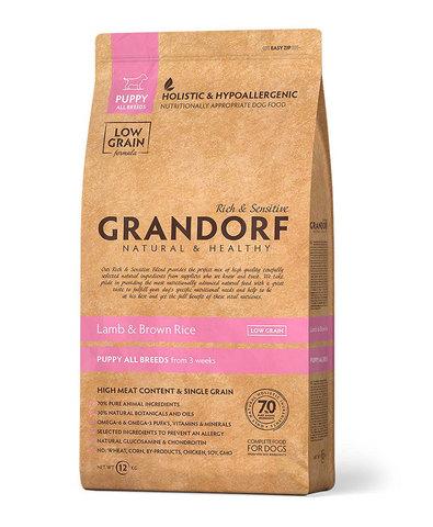 Grandorf Dog Puppy сухой корм для щенков (ягнёнок с рисом) 1 кг