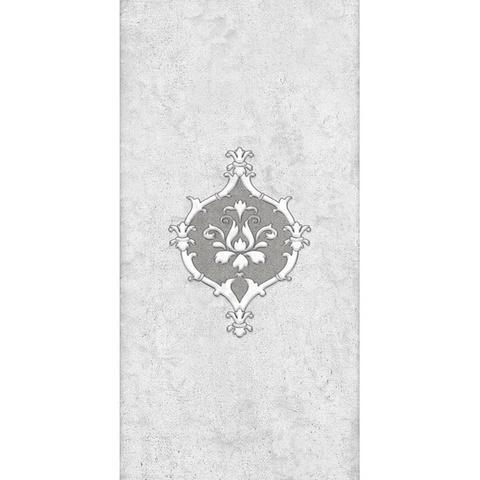 Декор Преза серый 04-01-1-08-04-06-1015-0 400х200х8