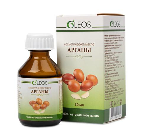 Косметическое масло Арганы  Oleos