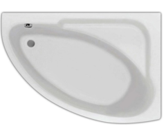 Ванна акриловая Santek (Сантек) Гоа 150х100х45 асимметричная, правая