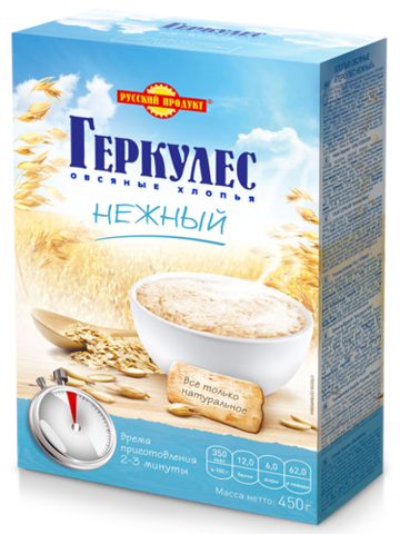 """Геркулес """"Русский продукт"""" Нежный 450 г"""