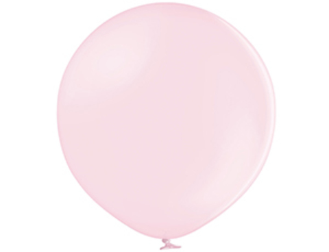 Большой шар макарунс розовый