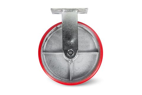 Колесо большегрузное неповоротн. PU (FCp 63) 150мм, шт