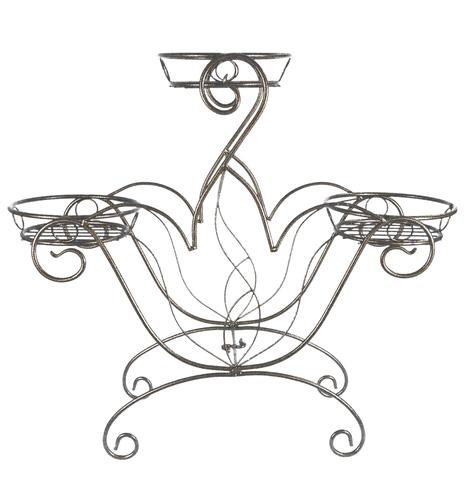 Подставка Напольная на 3 горшка Корона