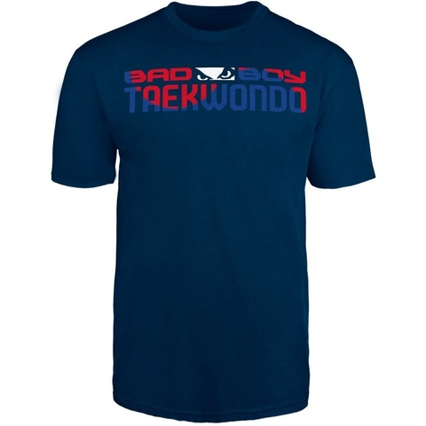 Футболка Bad Boy Taekwondo Discipline T-shirt Blue&