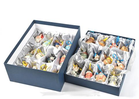 Подарочный набор мини-штофов №1 - 24шт