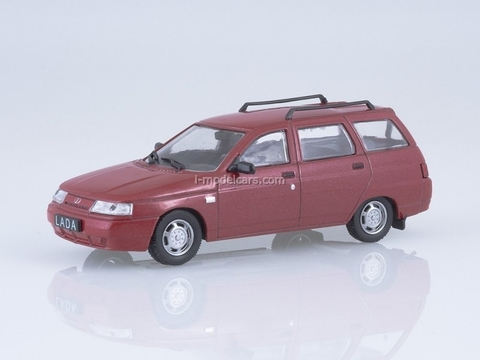 VAZ-2111 (Lada 111) 1998-2009 dark red 1:43 DeAgostini Auto Legends USSR #238