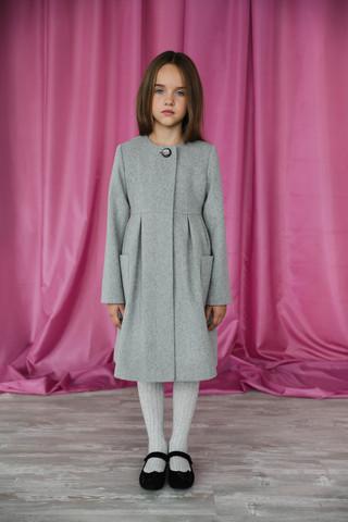 Пальто mamma Mila! (арт.E3 (light grey)