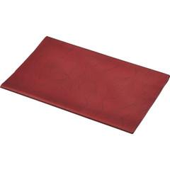 Скатерть одноразовая Aster Creative бумажная ламинированная 120x200 см бордовая