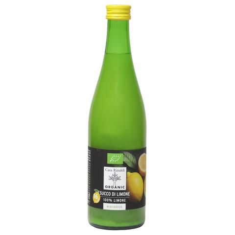 Сок лимонный 100% сицилийский Bio 500 мл