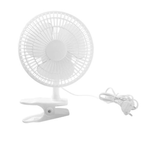 Вентилятор на прищепке 15Вт 19см