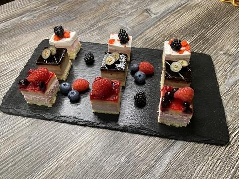 Мини-тортики ассорти