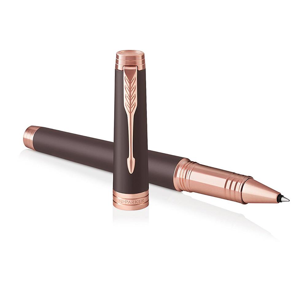 Parker Premier - Soft Brown PGT, ручка-роллер, F