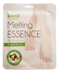 Маска-носочки смягчающие для ног Melting Essence Foot Pack