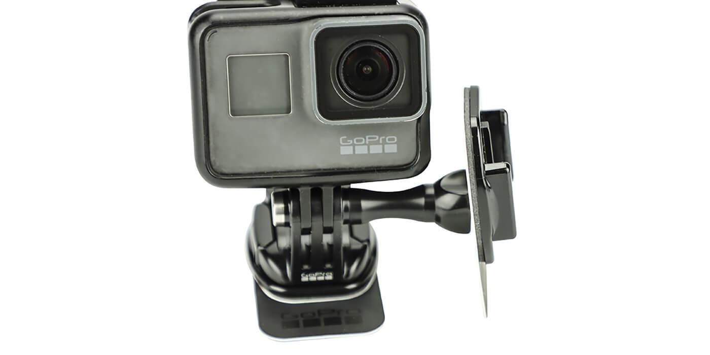 Съемные клеящиеся платформы GoPro Removable Instrument Mounts (AMRAD-001) + камера вид спереди