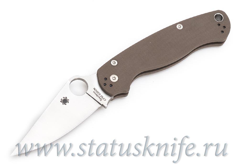 Нож Spyderco Paramilitary S35VN C81GPBN2