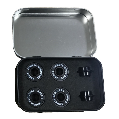 Подшипники для самоката КОМЕТА ABEC-9 (Black)