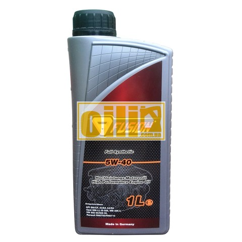 Fusion Full Synthetic 5W-40 1L
