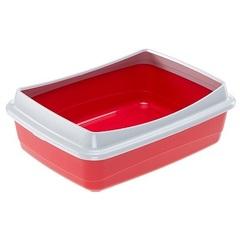 Открытый туалет для кошек Ferplast NIP 10 PLUS, 47 х 36 х 15,5 см