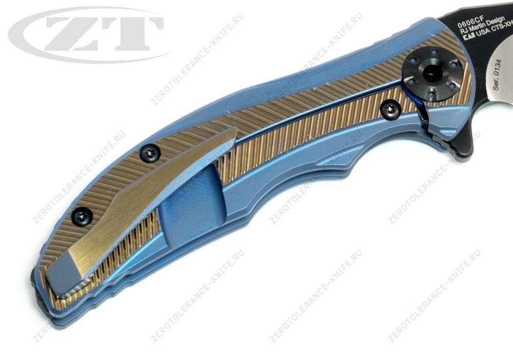 Нож Zero Tolerance 0606CF RJ Martin - фотография