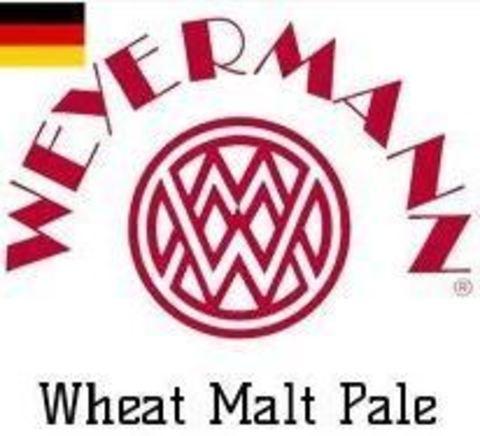 Солод пивоваренный пшеничный Wheat malt pale (Weizenmalz hell), EBC 3-5, 1кг