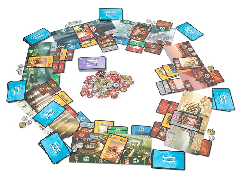 Настольная игра 7 Чудес