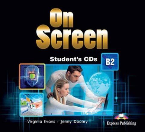 On Screen B2. Student's CD's (set of 2) REVISED. Аудио CD для работы дома(2 шт).