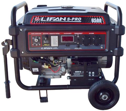 Бензогенератор Lifan S-PRO 6500