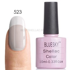 Гель-лак Bluesky № 40523/80523 Clearly Pink, 10 мл