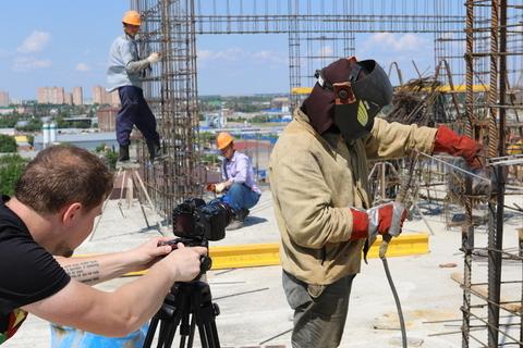 Игровой короткометражный фильм на день строителя