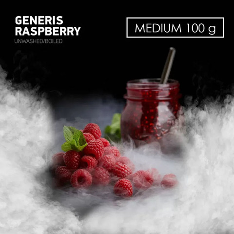 Табак Dark Side MEDIUM Generis Raspberry 100 г